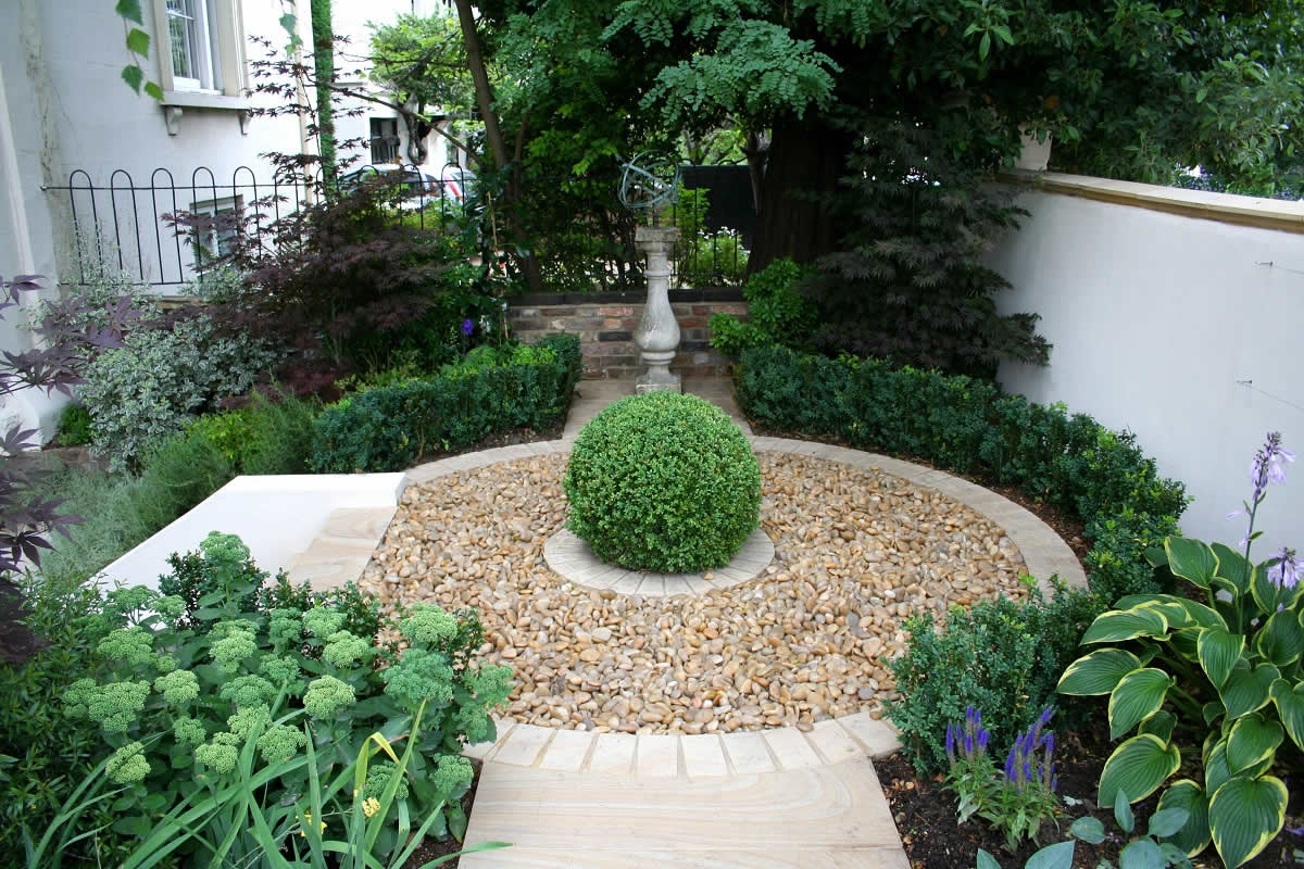 Formal Contemporary Garden