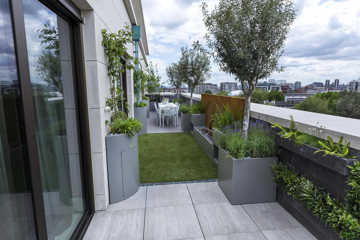 Roof Terrace Design St John's Wood