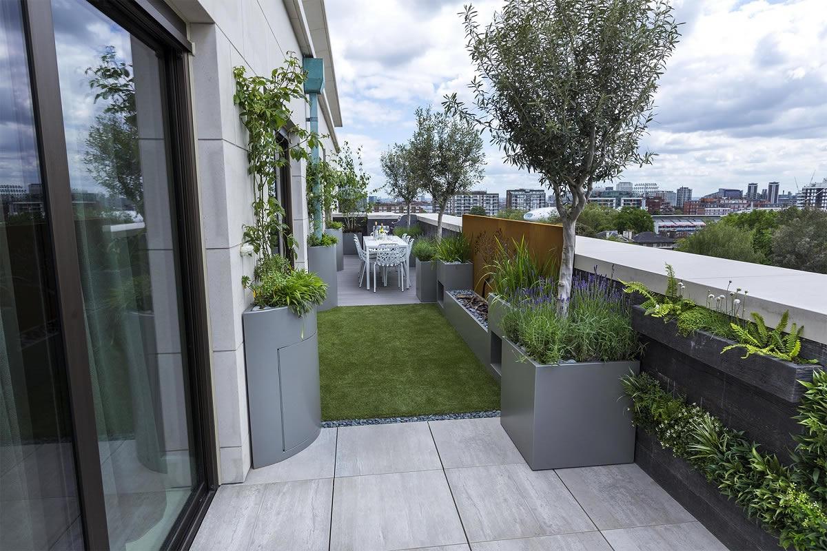 Roof Terrace Design St John's Wood