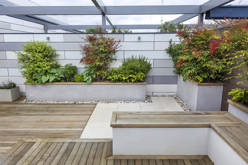 Roof Terrace Design Kings Cross 2
