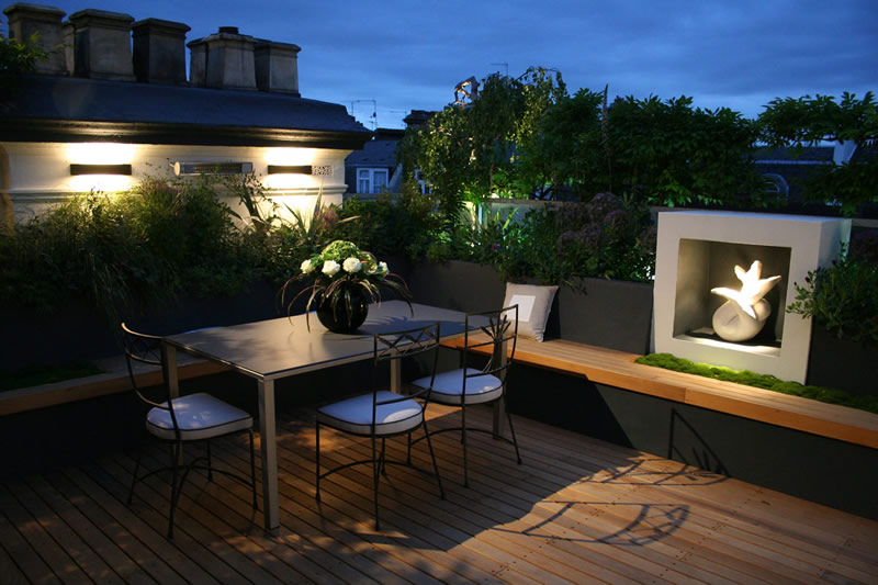 Roof Garden Design Kinsington