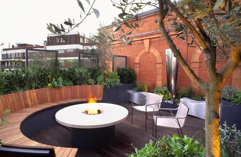 Roof Terrace Design Knightsbridge