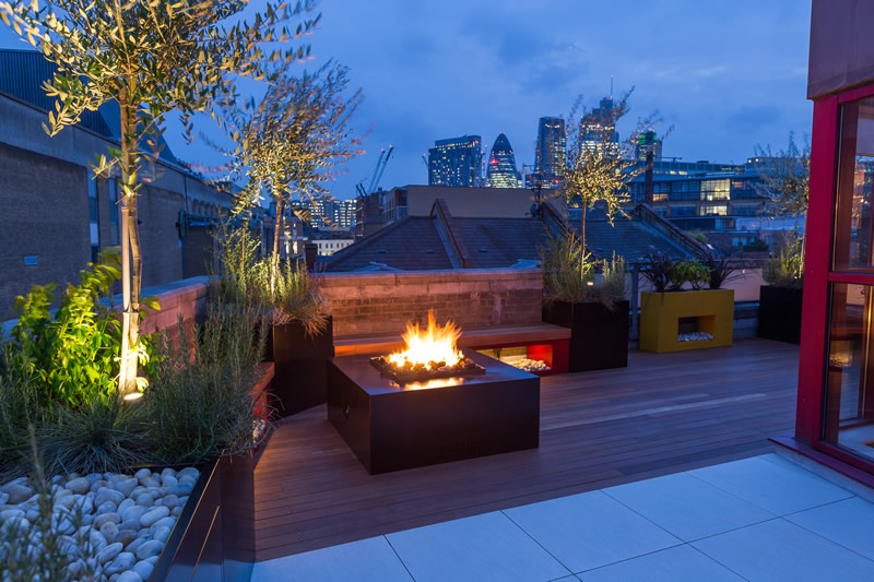 Roof Terrace Design in Shoreditch