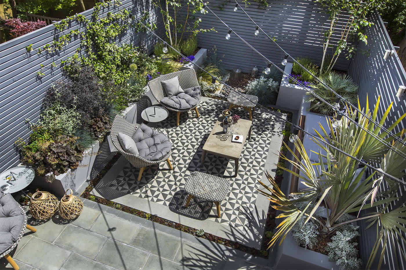 THE GARDEN BUILDERS LANDSCAPE DESIGN TIPS - cover