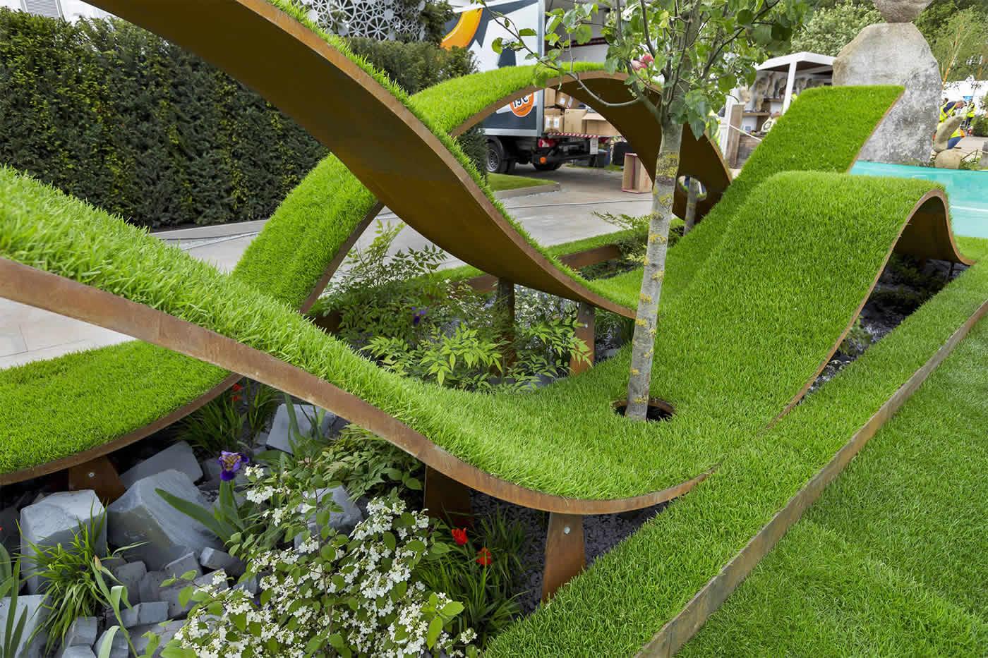 award winning garden rhs chelsea flower show 16 by the garden builders