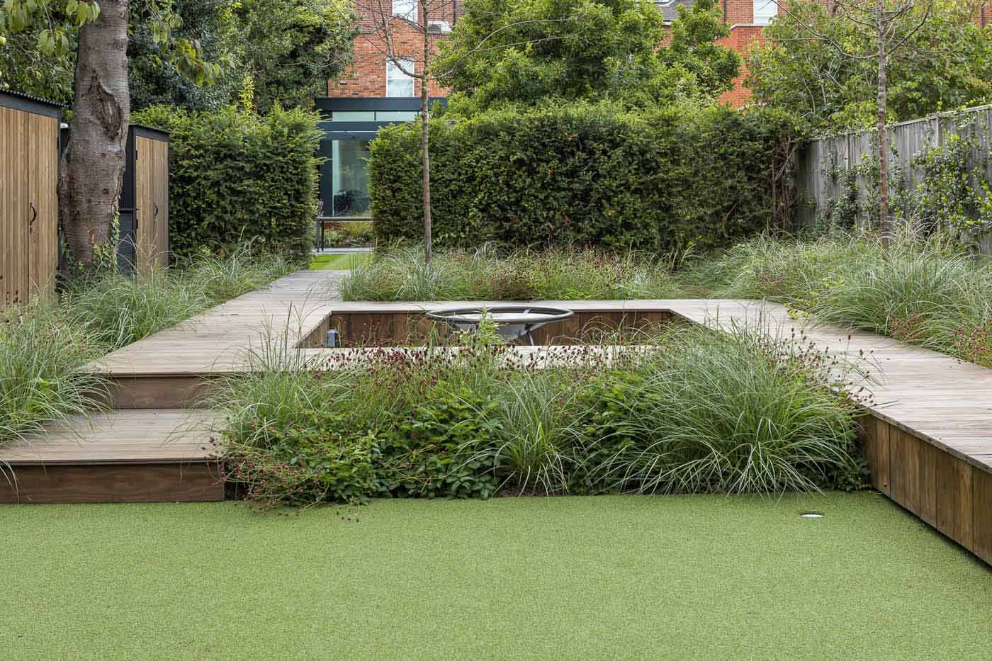 Garden Designer Chiswick Contemporary Style Family ...