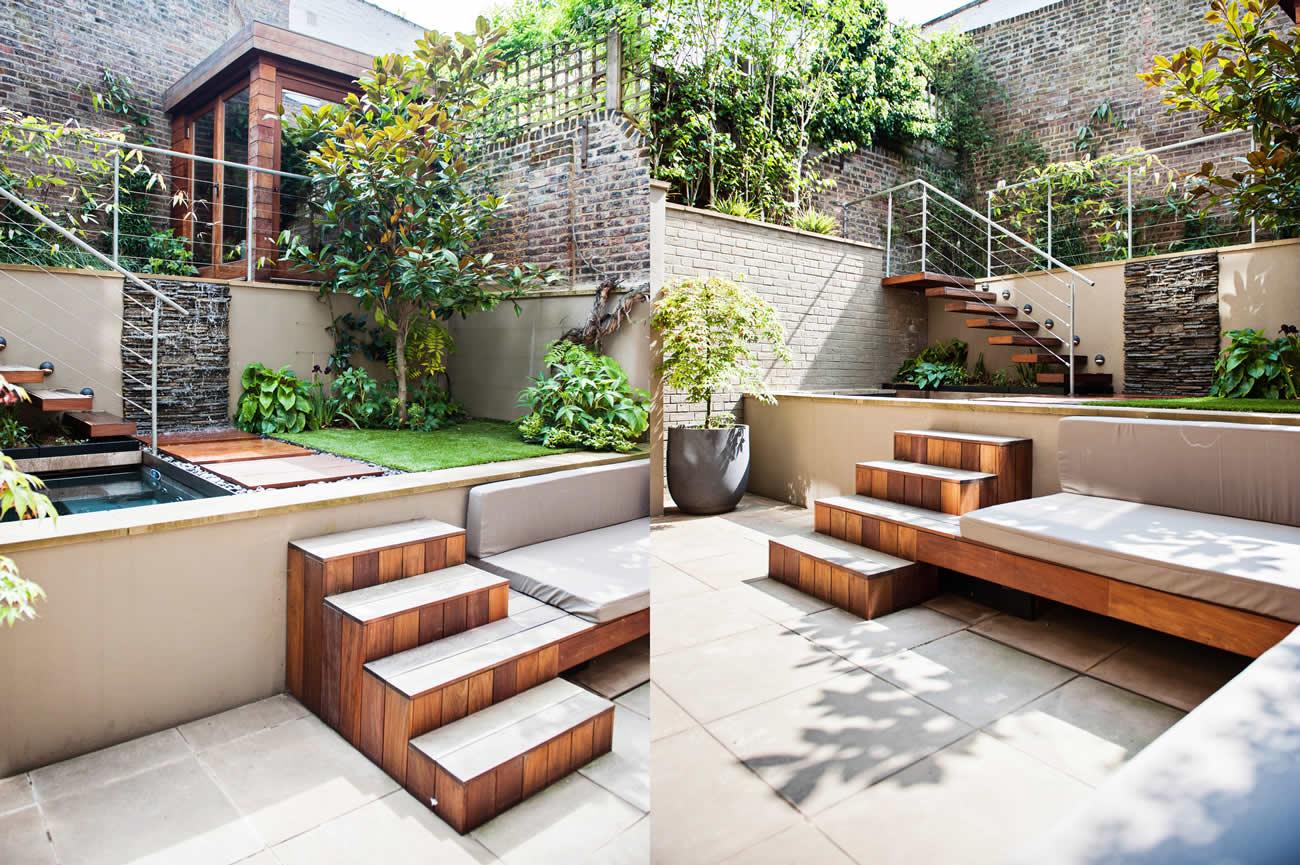 City Design Garden Low Maintenance With Artificial Lawn