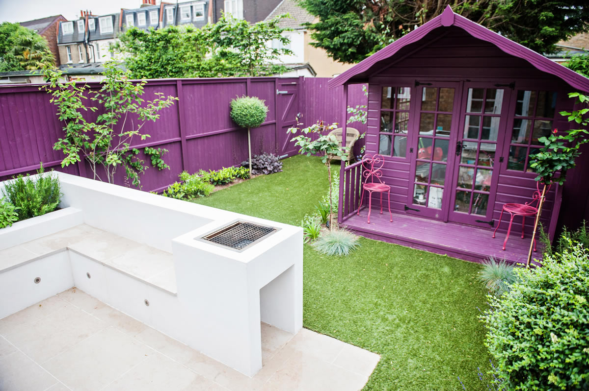 Funky Small Garden Design 23 Wimbledon Garden Designed And