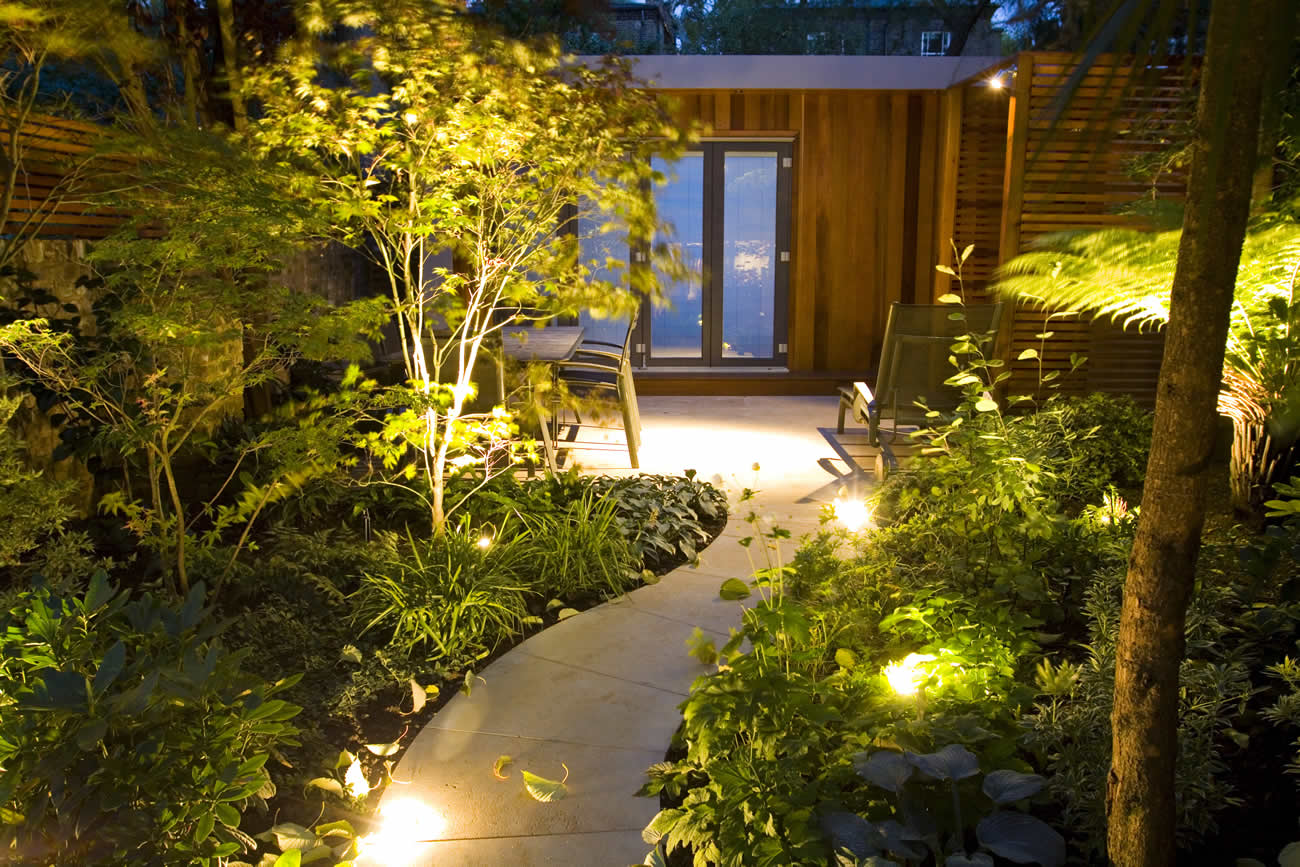 Contemporary Family Garden Design in St Johns Wood Designed and Constr
