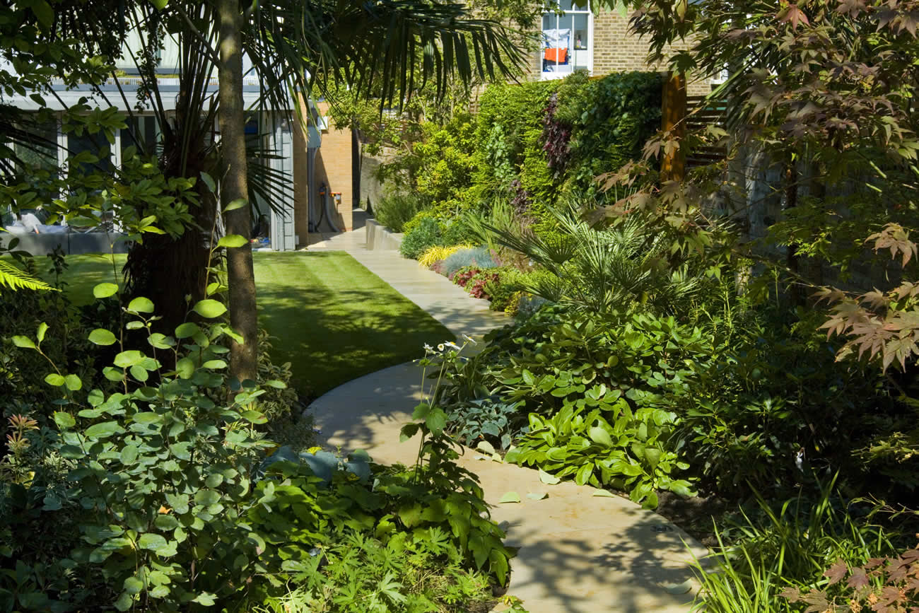 Contemporary Family Garden Design In St Johns Wood