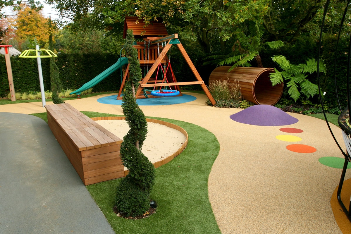 childrens play area garden design 51 apl awards 11 the garden builders hersham surrey