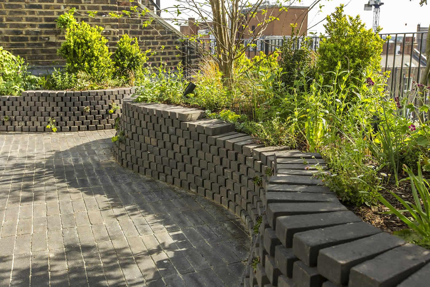 London garden design marylebone roof terrace by todd for 14 devonshire terrace london