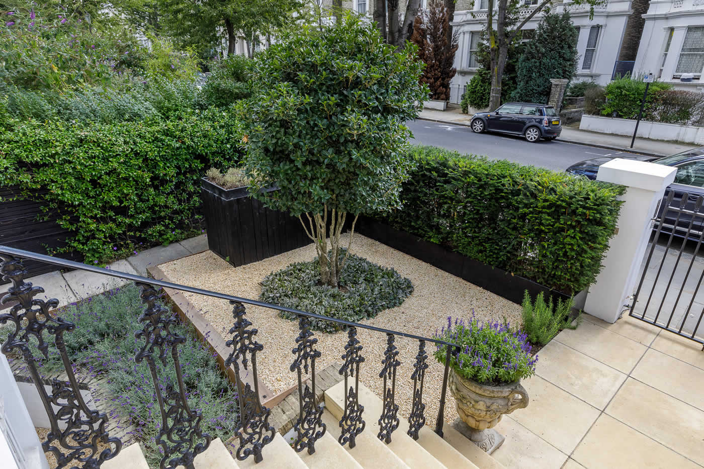 Garden Design Notting Hill Elegant Outdoor Stylish Entertainment Space