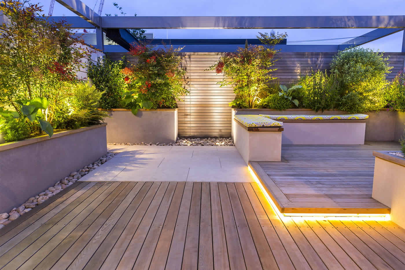 Roof Terrace Design Penthouse Apartment King S Cross
