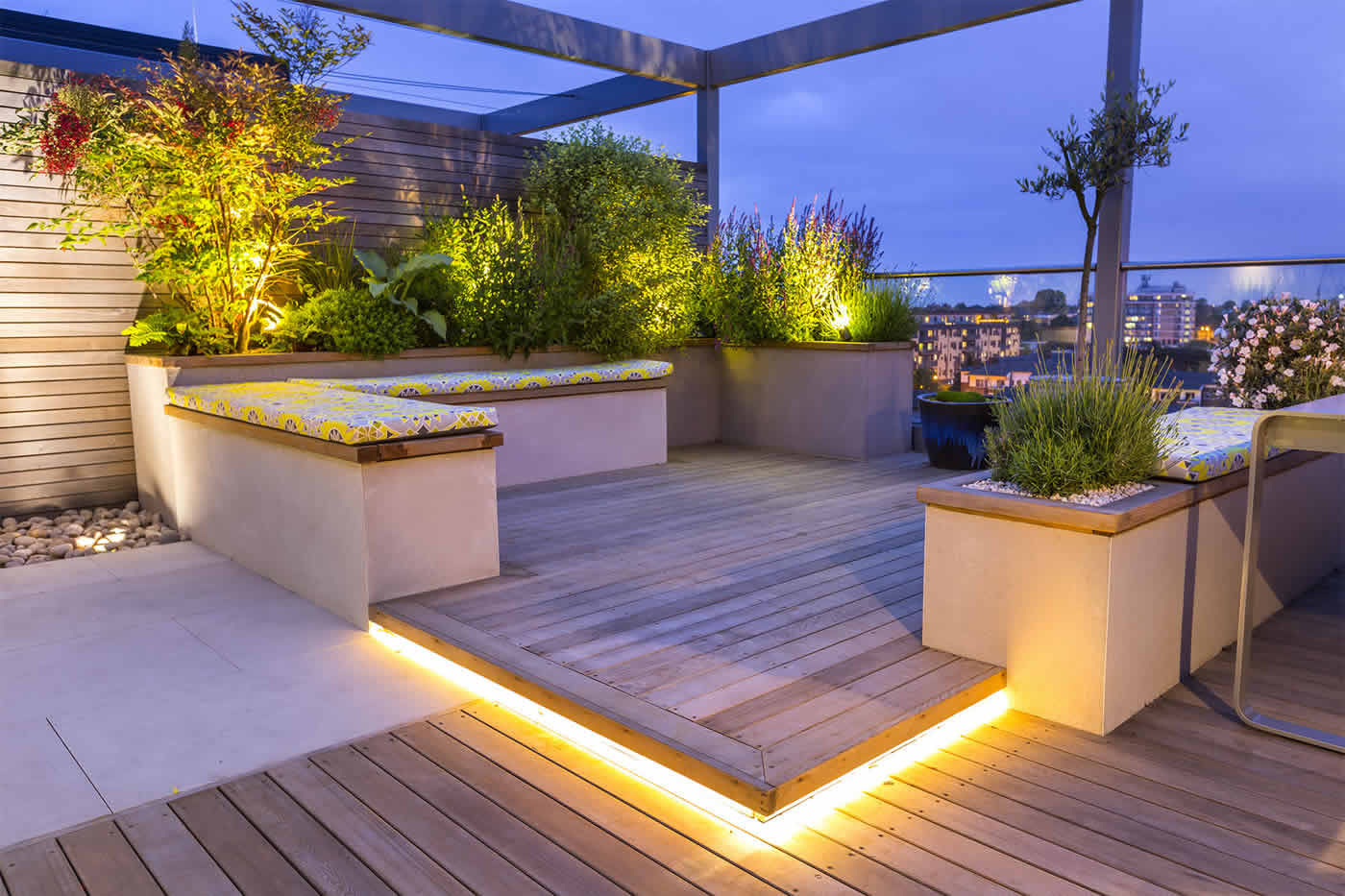Roof Terrace Design Kings Cross10 - Download Terrace Roof Design For Small House PNG