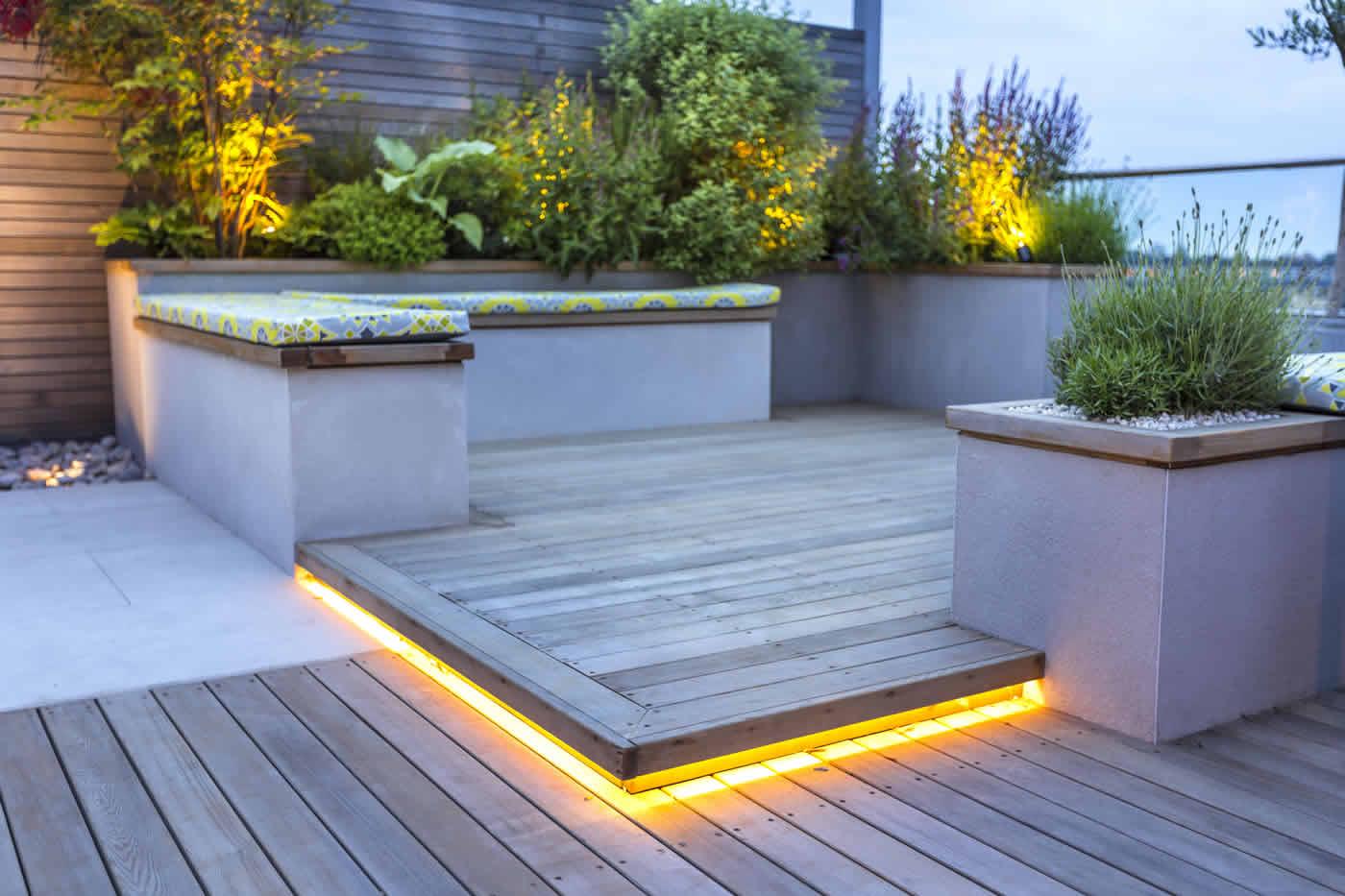 Roof terrace design penthouse apartment king 39 s cross for 14 m4s garden terrace