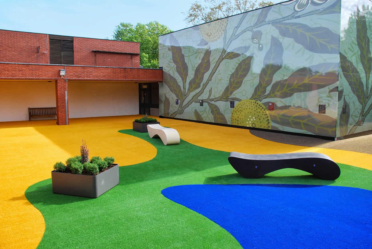 School playground garden design for primary school for Garden designs for schools