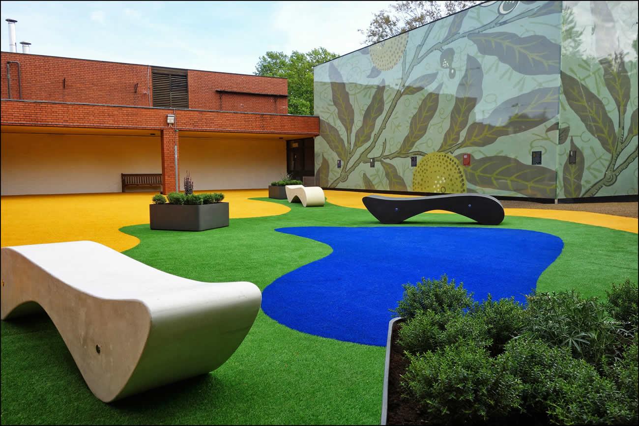 School playground garden design - 148.7KB