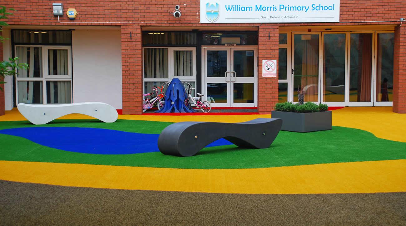 School playground garden design - 119.8KB