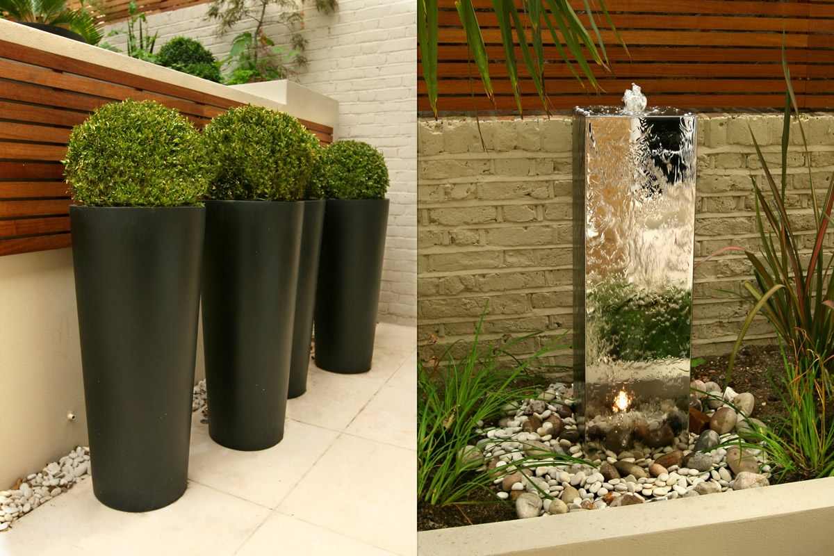 Contemporary Chic Garden Slatted Hardwood Trellis By Ben