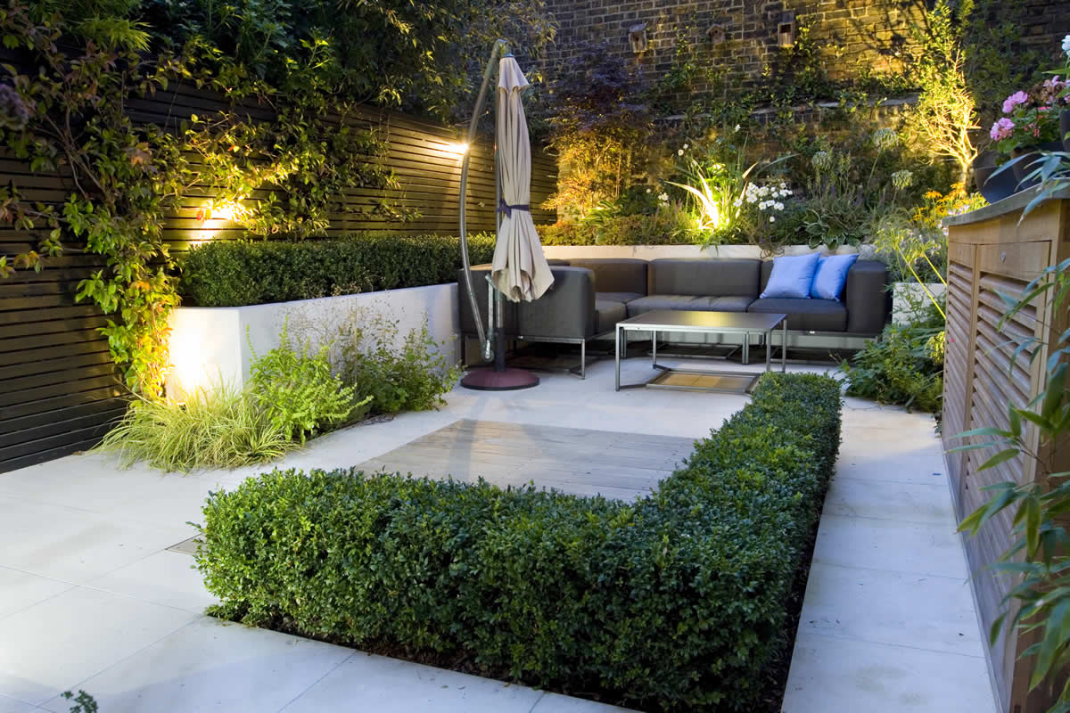 landscape lighting design ideas 1000 images. Outdoor Room In Sloane Square Chelsea With Gloster Exterior Furniture And Lighting Timber Decking Landscape Design Ideas 1000 Images