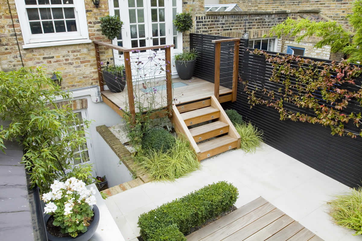 Outdoor Room In Sloane Square Chelsea With Gloster Exterior Furniture