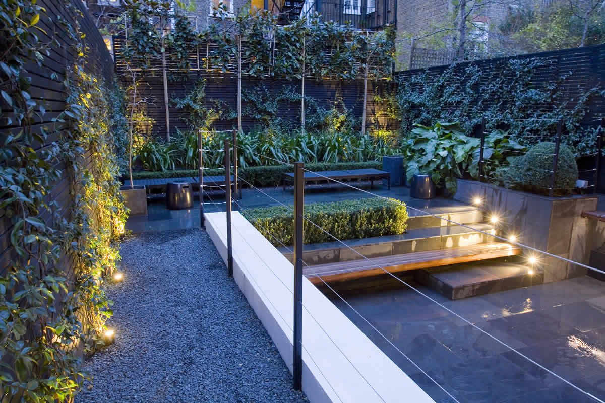 Small city garden design in kensington london designed by for Urban garden design