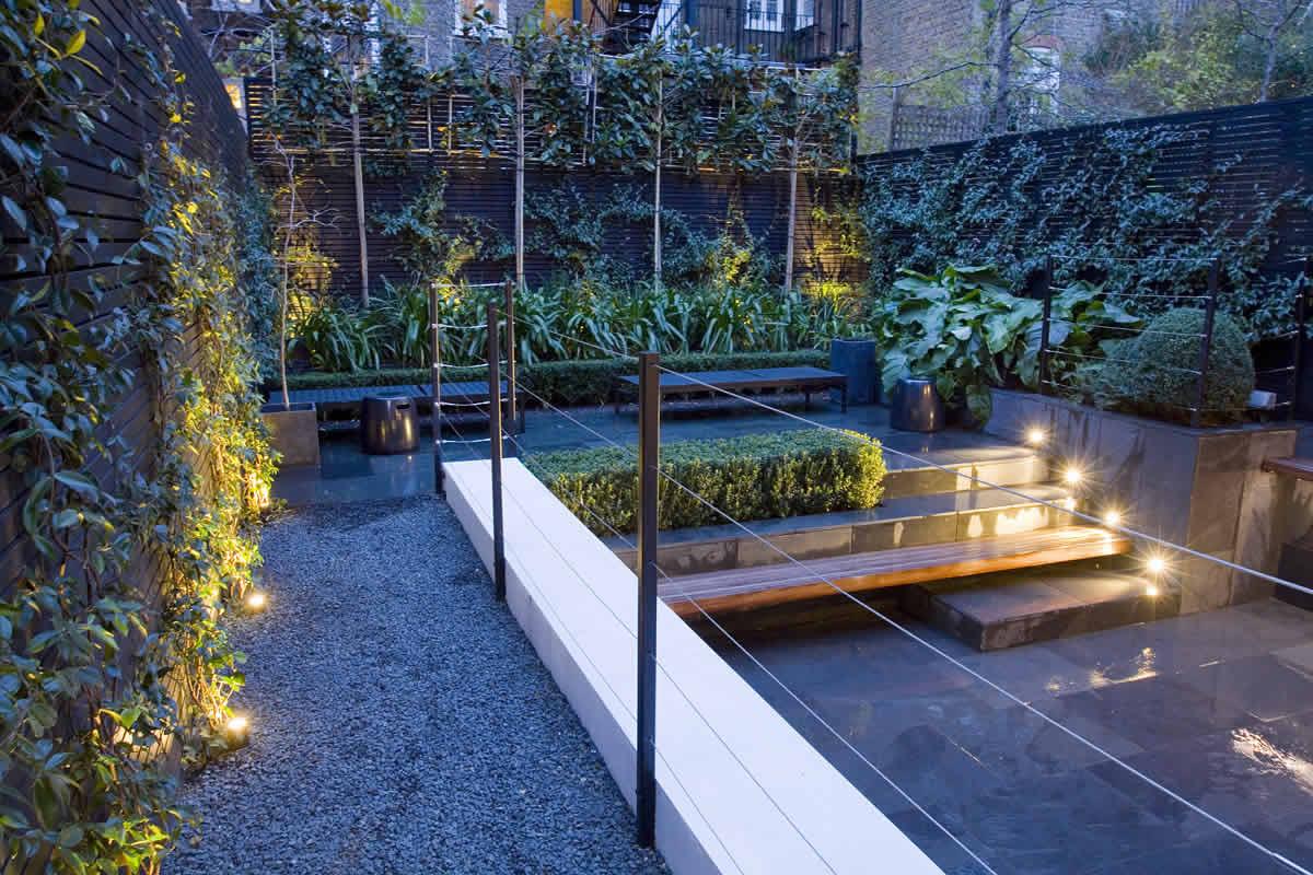 Small City Garden Design In Kensington London Designed By Award Winnin