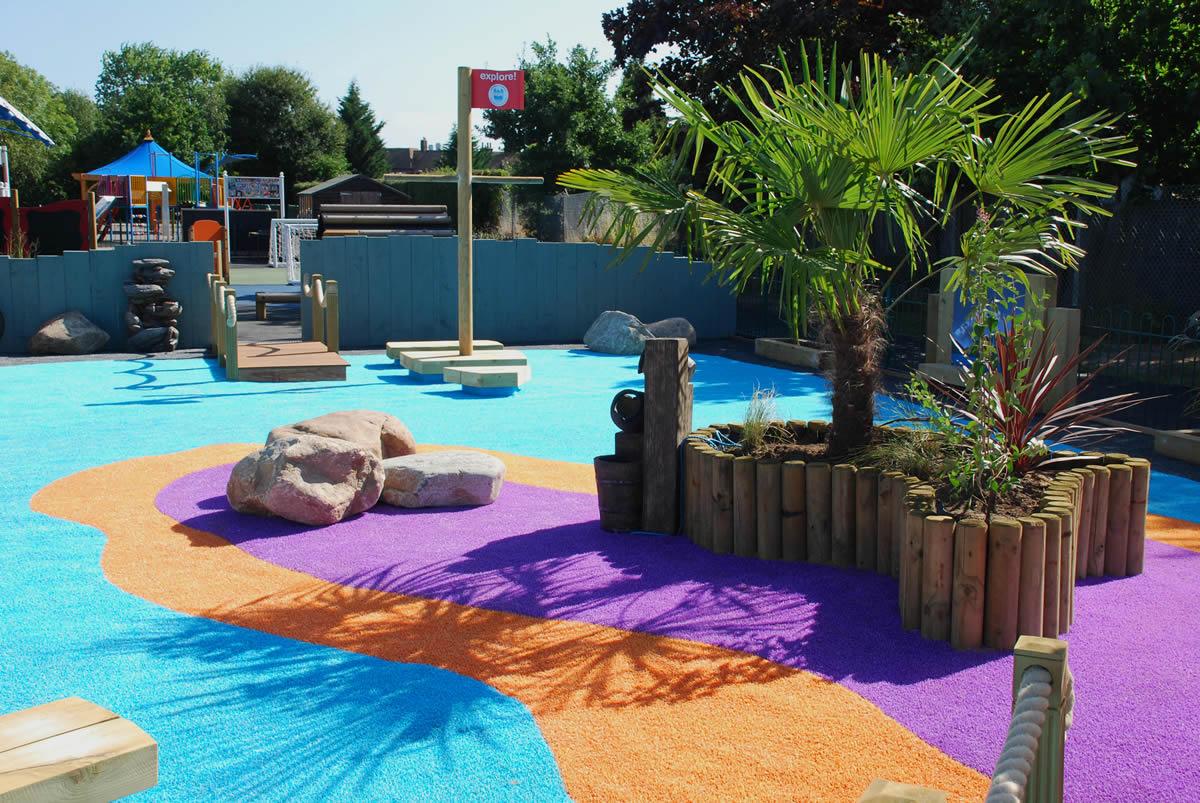 Childrens Sensory School Garden Part 79