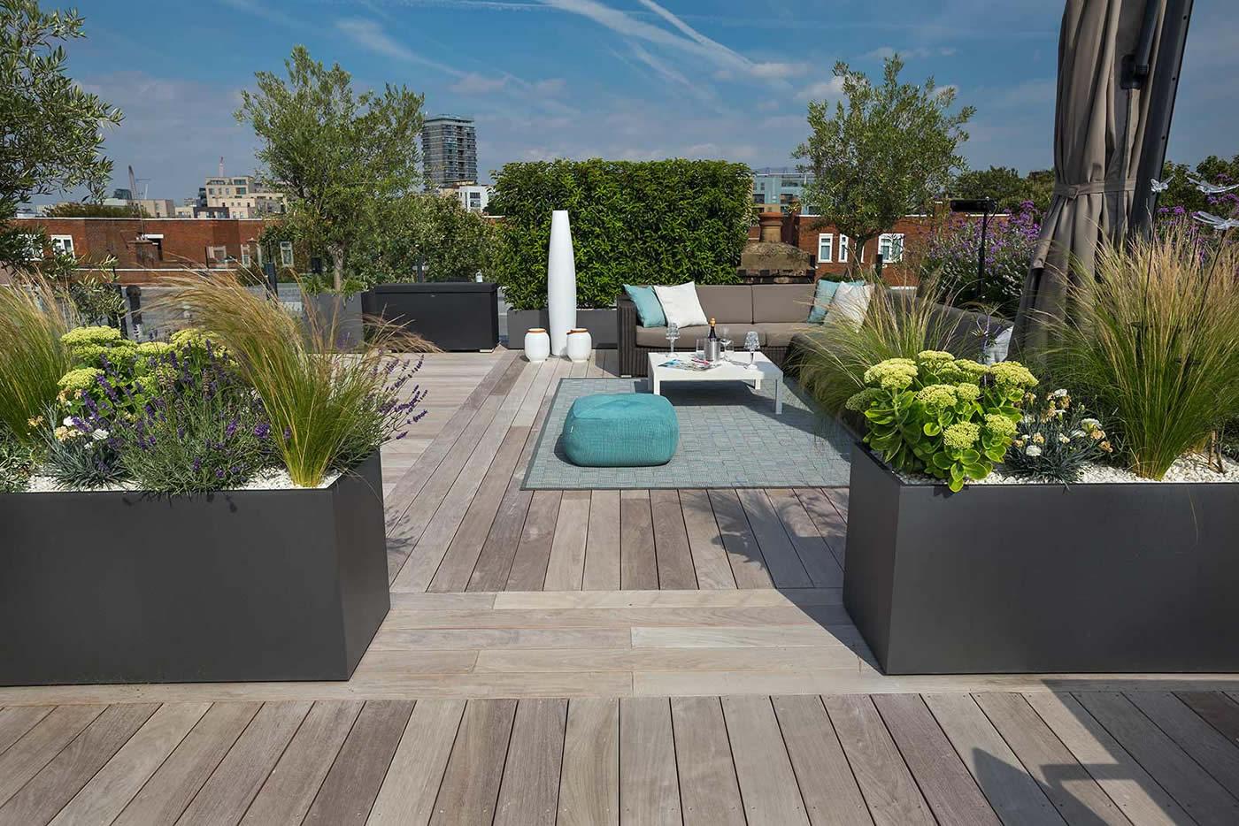 Bermondsey roof terrace Southwark in South London