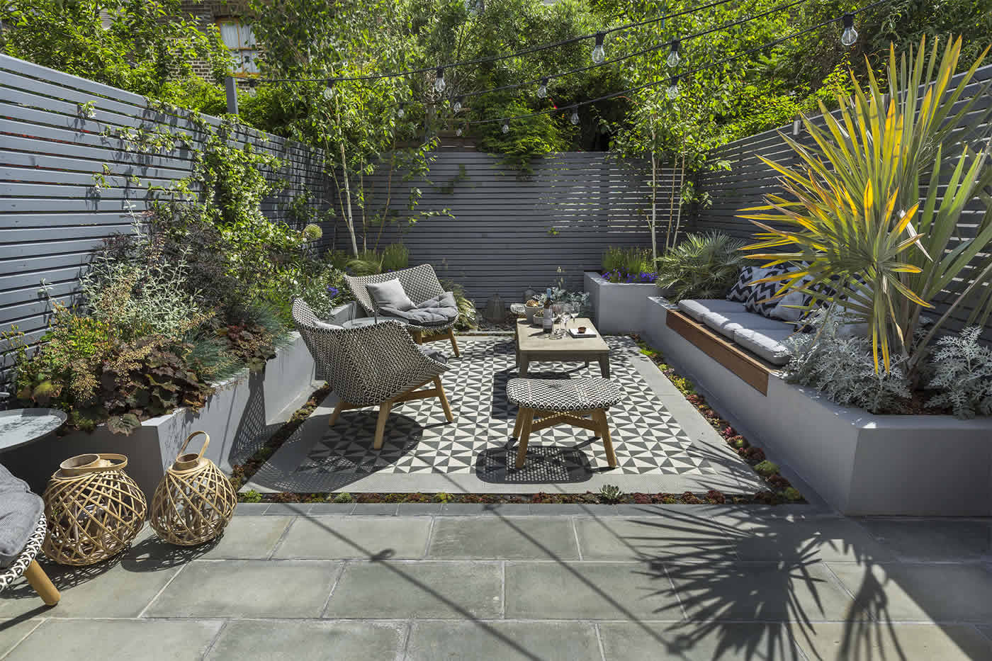 Private Small Garden Design Ideas For This Small South London Courtyard  Garden Evolved From The Clientu0027s
