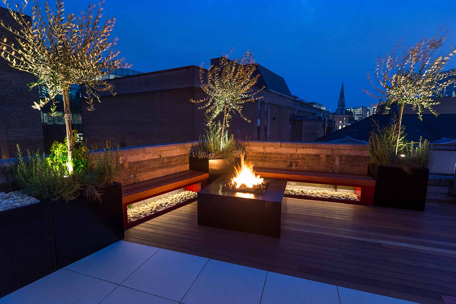 Shoreditch Roof Terrace Design In London