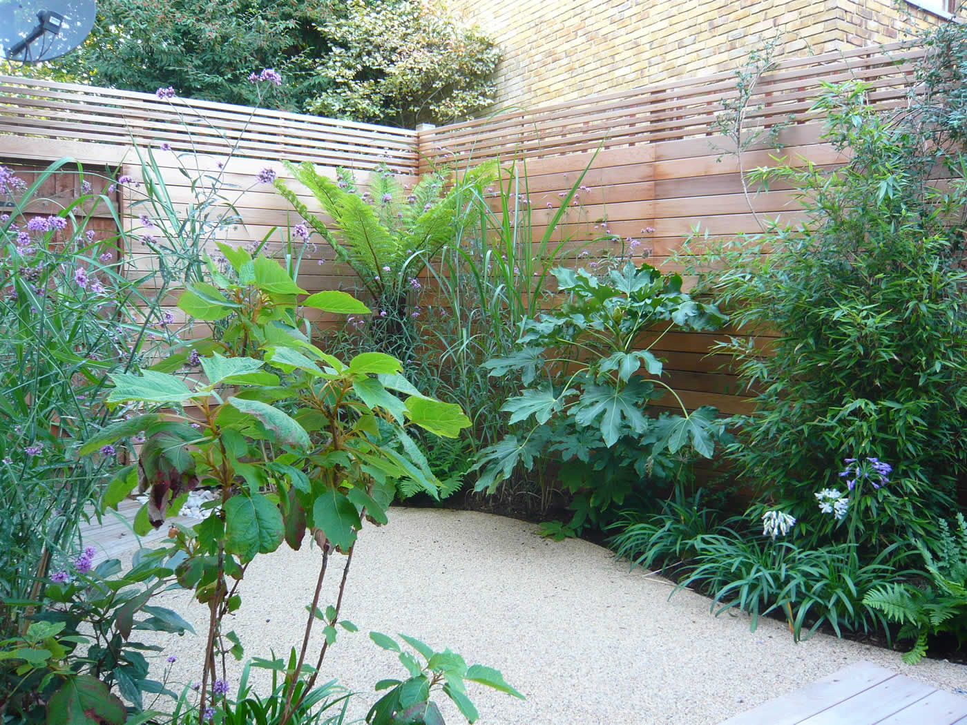 The garden builders is proud to announce the following for Garden design awards